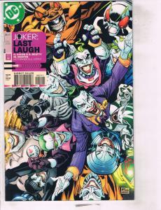 5 DC Comics Joker Last Laugh # 2 4 + JLA The Titans # 1 2 3 Complete Set RC10