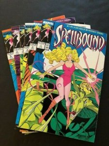 Complete Set-MARVEL SPELLBOUND #1-#6 1987-1988 NEAR MINT (PF977)