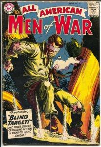 All American Men Of War #61 1958-DC-Mort Drucker-Blind Target-G