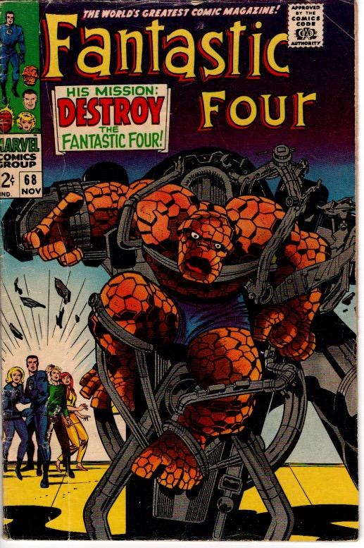 FANTASTIC FOUR #68 AND #69 VG+$18.00