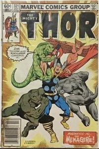 Thor #321 (1982)