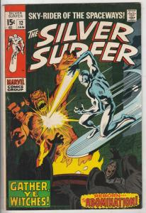 Silver Surfer #12 (Jan-70) VF+ High-Grade Silver Surfer, Shalla Bal
