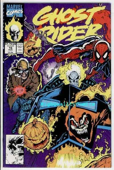 GHOST RIDER #16, NM+, Spider-man, HobGoblin,Blaze,1990, more GR in store