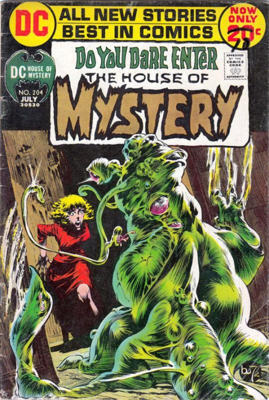 House of Mystery #204 (Jul-72) VG Affordable-Grade