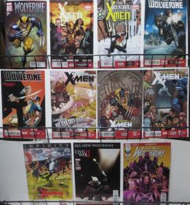 WOLVERINE- MODERN SAMPLE SET! 11 books- Wolverine & X-Men, Solo series! VF-NM