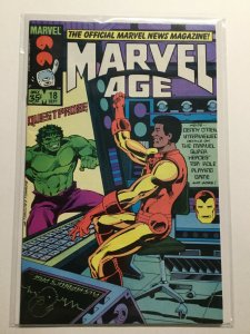 Marvel Age 18 Near Mint Nm Marvel