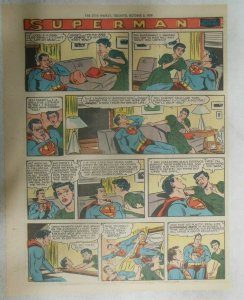 Superman Sunday Page #1040 by Wayne Boring from 10/4/1959 Tabloid Page Size