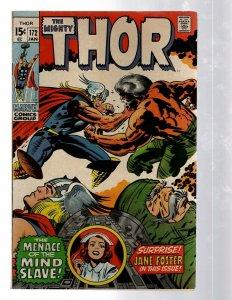 Mighty Thor # 172 VF Marvel Comic Book Loki Odin Asgard Sif Avengers Hulk RB8