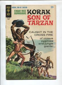 KORAK THE SON OF TARZAN #18 1967-GOLD KEY-VF