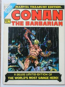 Marvel Treasury Edition Bronze Age Lot of 4 Complete Conan the Barbarian Deluxe!