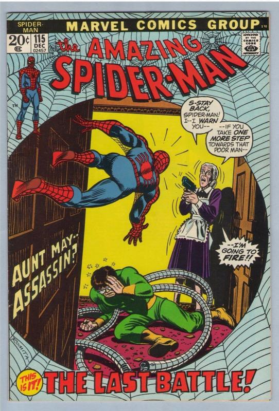Amazing Spider-man 115 Dec 1972 VF-NM (9.0)