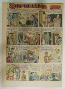 Superman Sunday Page #915 by Wayne Boring from 5/12/1957 Size ~11 x 15 inches
