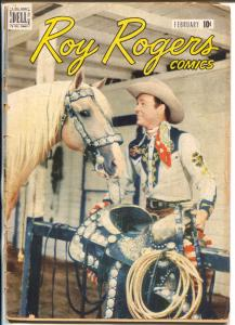 Roy Rogers #2 1948-Dell-Trigger-photo covers-Golden Age Western-G