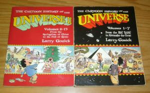 Cartoon History of the Universe TPB 1-2 FN larry gonick book set