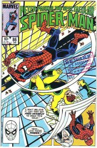 Spider-Man, Peter Parker Spectacular #86 (Jan-84) NM/NM- High-Grade Spider-Man