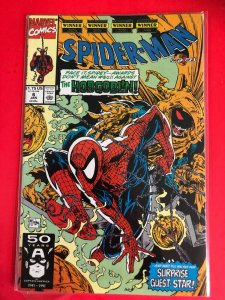SPIDER-MAN #6 1990 MARVEL HOBGOBLIN / HIGH QUALITY