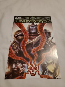 Infestation Series 2 1 Near Mint- Cover by Alex Garner