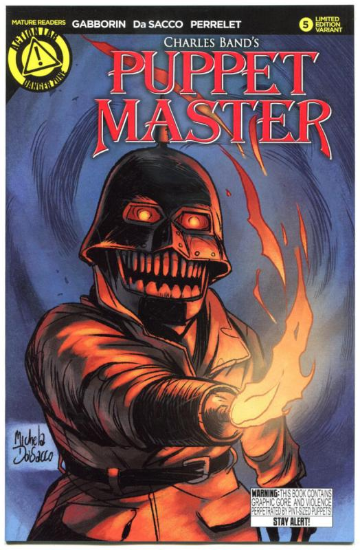 PUPPET MASTER #5, NM, Bloody Mess, 2015, Dolls, Killers, more HORROR  in store,B