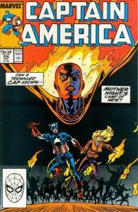 Captain America (1st Series) #356 FN; Marvel | save on shipping - details inside