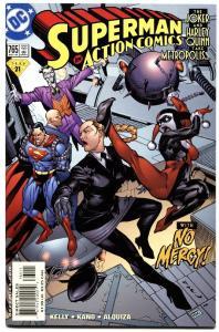ACTION #765-2000-HARLEY QUINN COVER-DC-JOKER-SUPERMAN