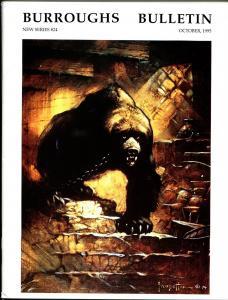 Burroughs Bulletin New Series #24 1995-ERB-Tarzan-Frank Frazetta-VF