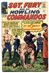 Sgt. Fury And His Howling Commandos #5 1964-First BARON STRUCKER-comic book vg-