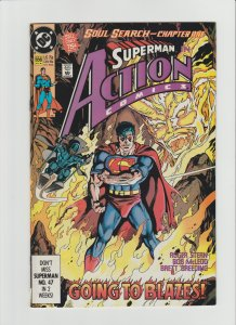 Action Comics #656 VF (1990, DC Comics) Cover by Kerry Gammill
