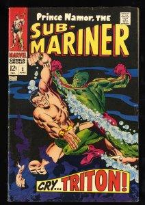 Sub-Mariner #2 FN- 5.5
