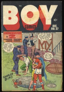 Boy Comics #37 FA/GD 1.5