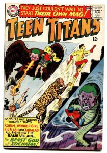 TEEN TITANS #1 1966 First issue Robin Wonder Girl Kid Flash .
