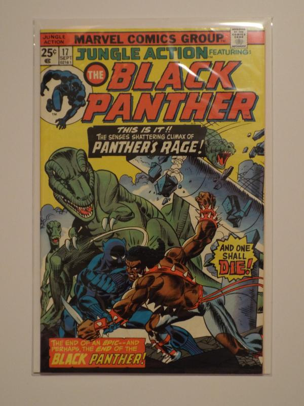 Jungle Action, The Black Panther #17, (1974), VF+