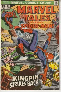 Marvel Tales # 64 Re: Amazing Spiderman # 84 Spidey vs  Kingpin and  Schemer !