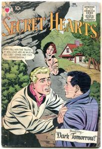 SECRET HEARTS #53 1959-DC ROMANCE G