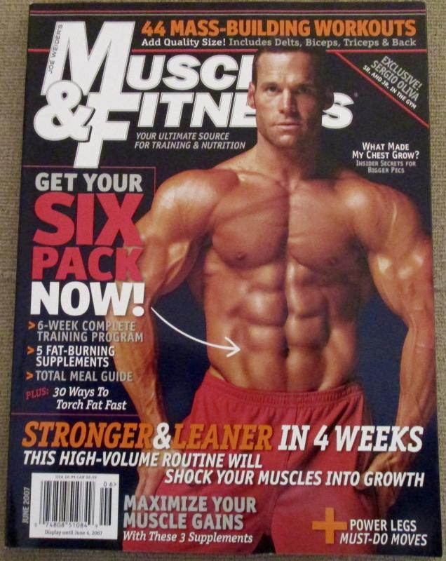 Muscle & Fitness June 2007