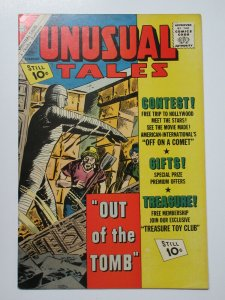 Unusual Tales (Charlton February 1962) #32 F-VF Out of the Tomb!