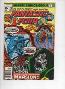 FANTASTIC FOUR #198, FN-, Dr Doom, Sinnott, 1961 1978, Marvel, more FF in store
