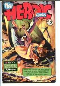 HEROIC COMICS #41 1946-INGLES AND TOTH-BESS MEYERSON  FN/VF