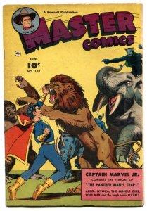Master Comics #128 1952- Captain Marvel Jr- Tom Mix- Nyoka FN-