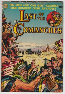 Last of the Comanches #nn (1953) 3.0 GD/VG Avon Western