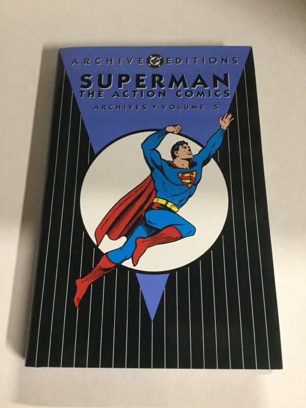 Archive Editions Superman The Action Comics Vol 5 Nm Near Mint HC DC Comics TPB