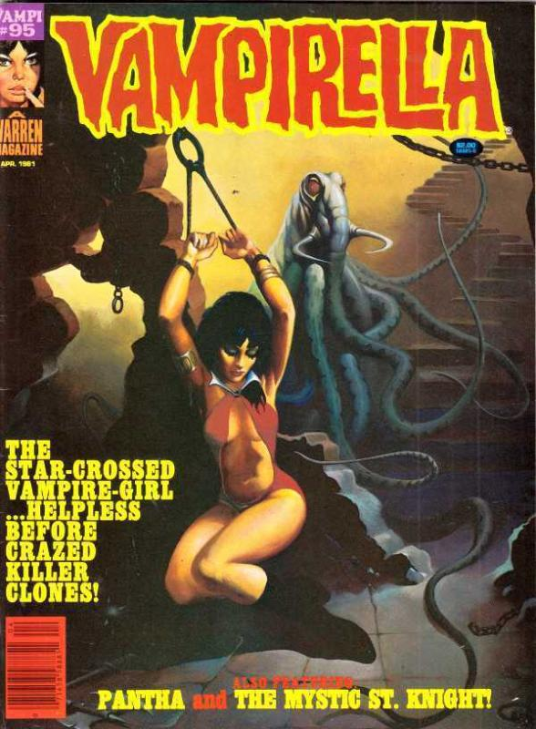 Vampirella Magazine 95 strict VF/NM 9.0  Star-Crossed Vampire-Girl!!