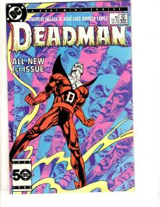 Deadman Complete DC Comics Limited Series # 1 2 3 4 1986 Mini TD7