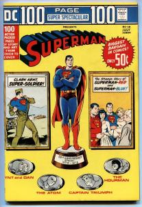 DC 100-PAGE SUPER SPECTACULAR #18-comic book-SUPERMAN-1973 HOURMAN