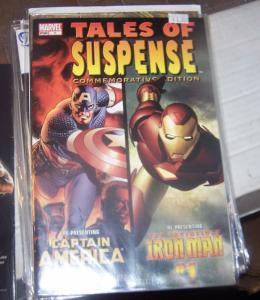 TALES OF SUSPENSE-COMMERATIVE EDITION -#1 MARVEL 2005 Captain America   IRONMAN