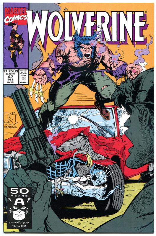 WOLVERINE #47, NM+, Dog Day, 1988, Larry Hama, Claws, more in store