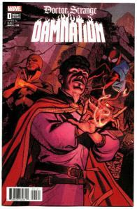 Doctor Strange Damnation #1 Connecting Variant (Marvel, 2018) NM