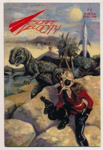 Escape Velocity (1986 Escape Velocity Press) #1 NM, #2 VF Complete series