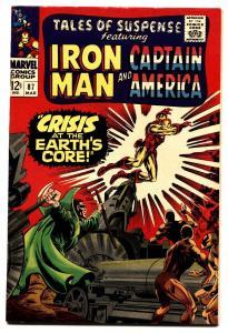 TALES OF SUSPENSE #87 comic book 1966-IRON MAN/CAPTAIN AMERICA-MARVEL VF/NM