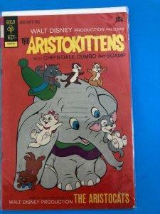 WALT DIISNEY; THE ARISTOKITTENS  V1  #2  1972  GOLD KEY / MED-  CONDITION