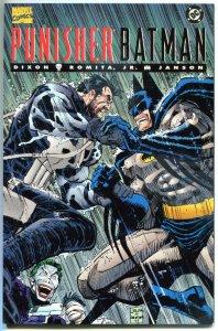 PUNISHER / BATMAN #1, NM, Dixon, Romita, Janson, 1994, Marvel, DC, more in store